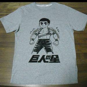 Vintage Rare Uniqlo Anime Kyojin no Hoshi T-Shirt